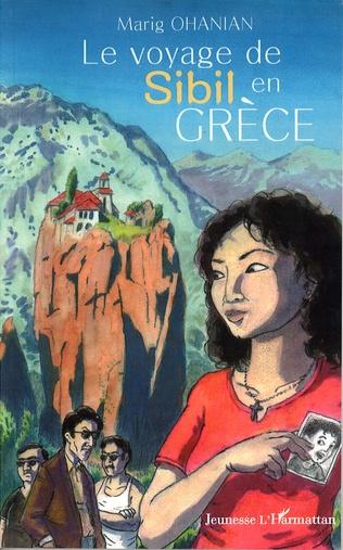 Couverture Le voyage de Sibil en Grèce