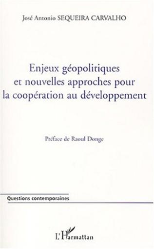 Couverture Enjeux géopolitiques et nouvelles approches pour la coopération au développement