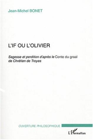 Couverture L'If ou l'olivier