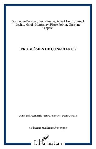 Couverture Problèmes de conscience