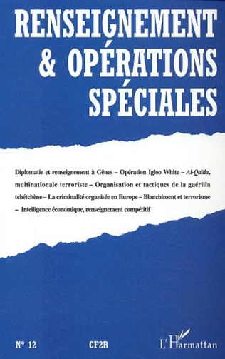 Couverture Renseignement et opérations spéciales