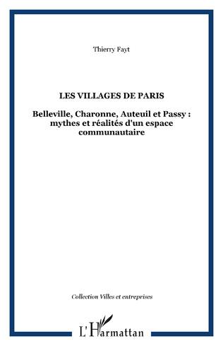 Couverture Les villages de Paris