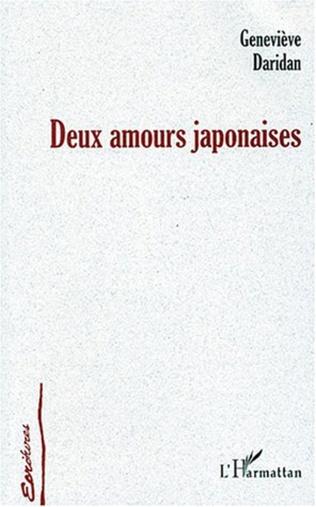 Couverture Deux amours japonaises