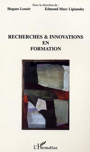 Couverture Recherches et innovations en formation
