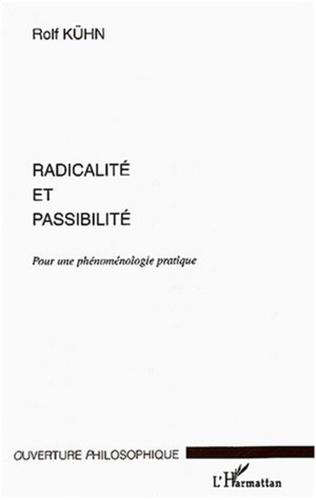 Couverture Radicalité et passibilité