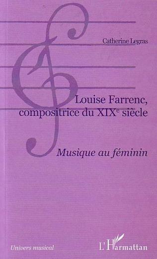 Couverture Louise Farrenc, compositrice du XIXe siècle
