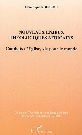 Couverture Nouveaux enjeux théologiques africains