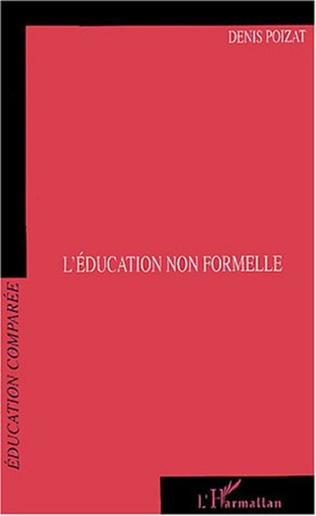 Couverture L'éducation non formelle