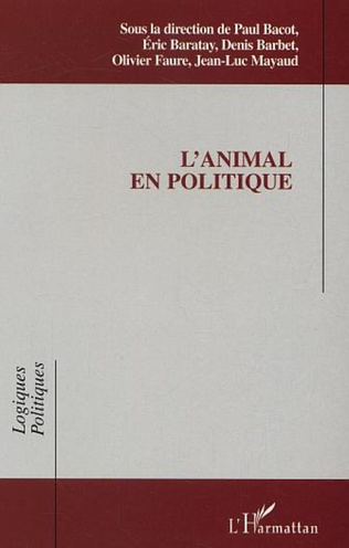 Couverture L'animal en politique