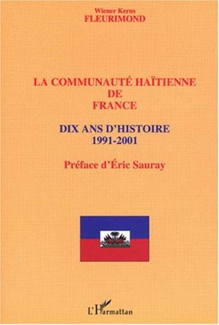 Couverture Communauté haïtienne de France