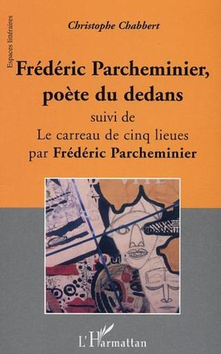 Couverture Frédéric Parcheminier, poète du dedans