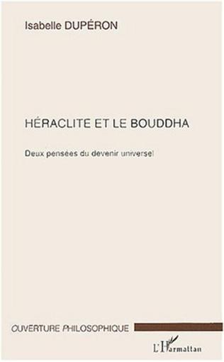 Couverture Héraclite et le Bouddha
