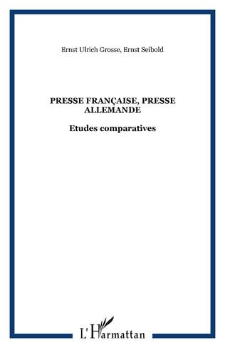 Couverture Presse française, presse allemande