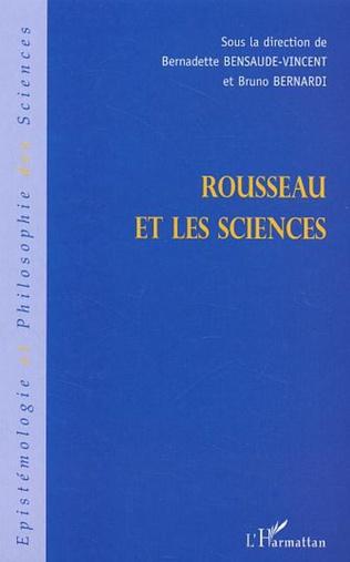 Couverture Rousseau et les sciences
