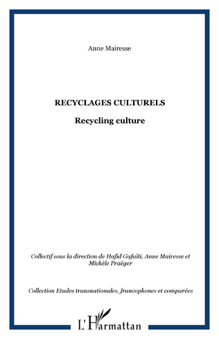 Couverture Recyclages culturels