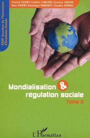 Couverture Mondialisation et régulation sociale