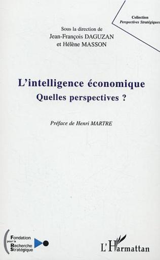 Couverture L'intelligence économique