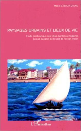 Couverture Paysages urbains et lieux de lieux de vie