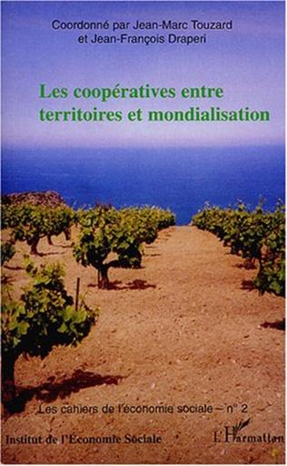 Couverture Les coopératives entre territoires et mondialisation