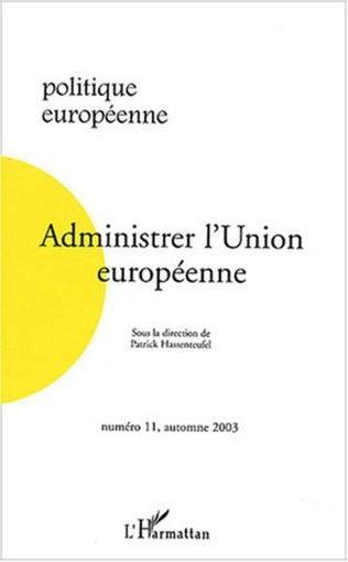 Couverture Administrer l'Union européenne