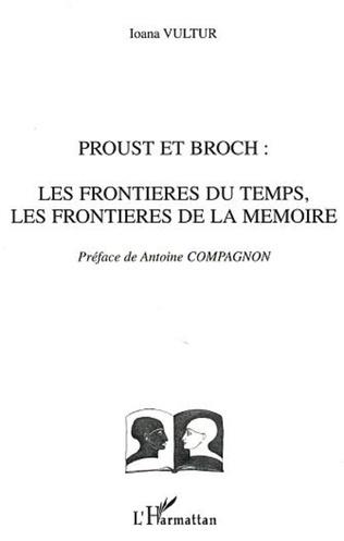 Couverture Proust et Broch