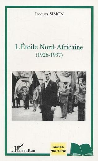 Couverture L'étoile nord-africaine (1926-1937)