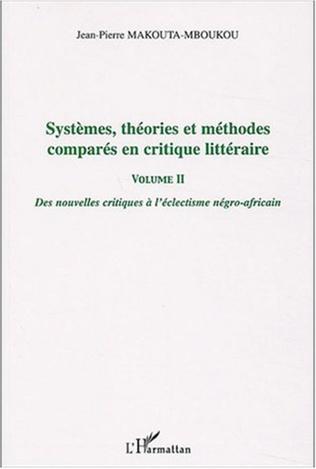 Couverture Systèmes, théories et méthodes comparés en critique littéraire