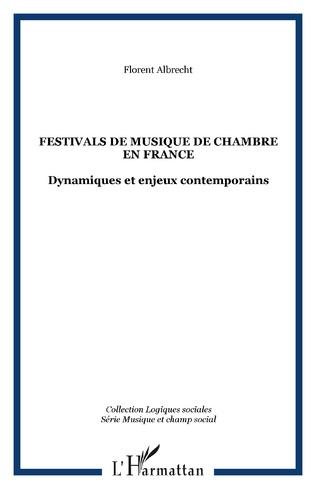 Couverture Festivals de musique de chambre en France