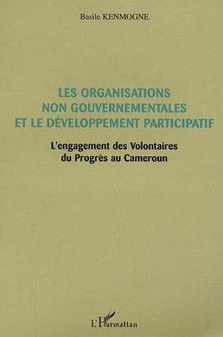 Couverture Les Organisations non gouvernementales et le développement participatif