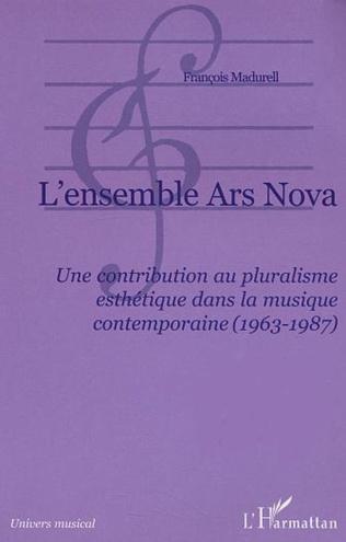 Couverture L'ensemble Ars Nova