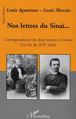 Couverture Nos lettres du Sinaï