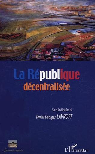 Couverture La République décentralisée