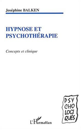 Couverture HYPNOSE ET PSYCHOTHERAPIE