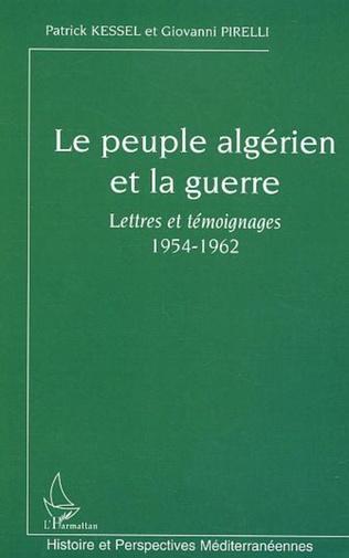 Couverture Le peuple algérien et la guerre