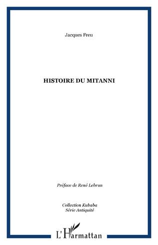 Couverture HISTOIRE DU MITANNI