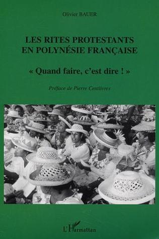 Couverture Les Rites protestants en Polynésie française