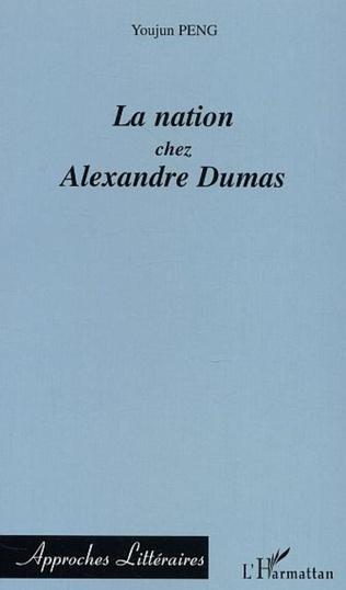 Couverture La nation chez  Alexandre Dumas