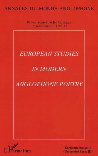 Couverture Spaces of translatability in twentieth–century poetry