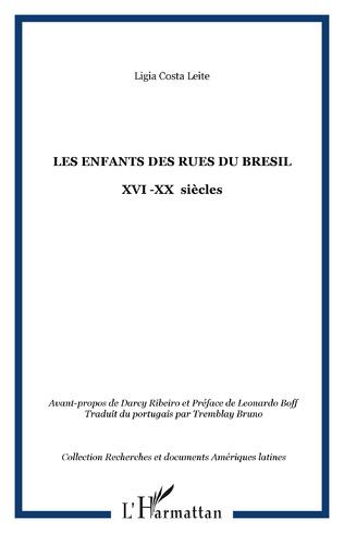 Couverture LES ENFANTS DES RUES DU BRESIL