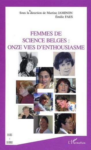 Couverture Femmes de science belges