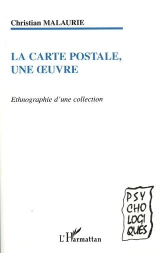 Couverture La Carte postale, une oeuvre
