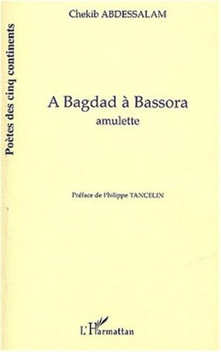 Couverture A Bagdad à Bassora