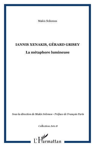 Couverture Iannis Xenakis, Gérard Grisey