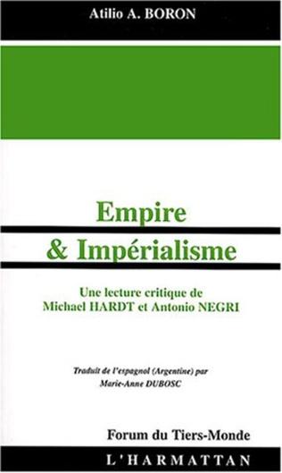 Couverture Empire et Impérialisme