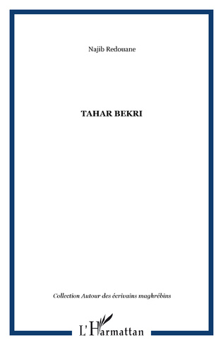 Couverture Tahar Bekri