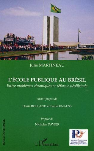 Couverture ECOLE PUBLIQUE AU BRESIL