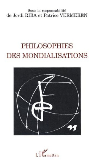 Couverture Philosophies des mondialisations