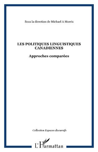 Couverture Les politiques linguistiques canadiennes