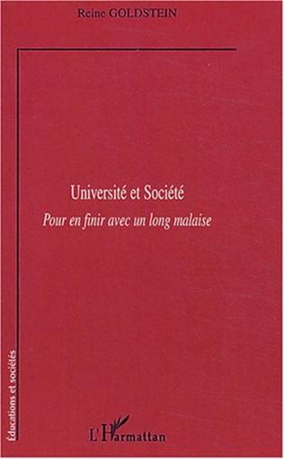 Couverture Université et Société