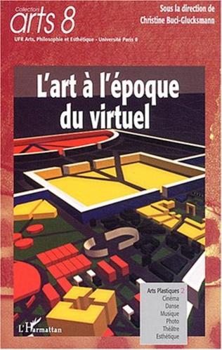 Couverture L'Art à l'époque du virtuel